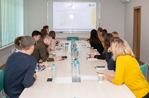 Young specialists received training at the factory