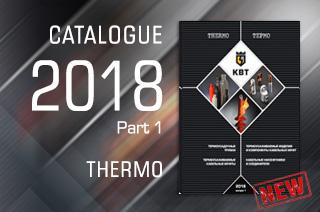 New catalogue from KBT brand -TНERMO 2018