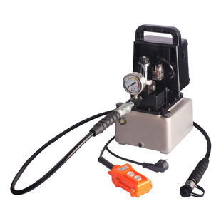 Mini battery-powered hydraulic pump with pressure hold ПМЭ-7020у