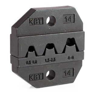 Dies for crimping of non-insulated disconnectors