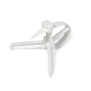 Cable ties with a screw anchor