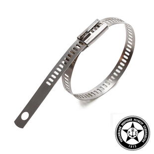 Ladder multi-lock stainless steel cable ties AISI 316