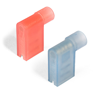 Nylon insulated female flag type connectors