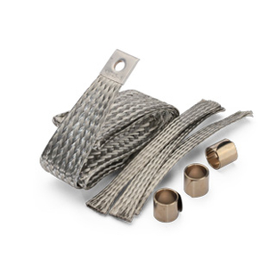 Earthing kits for cables with copper tape screen