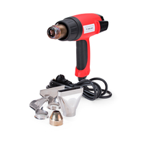 Heat gun for installation of heat shrinkable tubes
