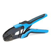 Pliers for crimping of insulated twin end sleeves 2х0.5-2х6 mm²