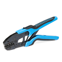 Pliers for crimping of insulated terminals and ferrules 0.25-6 mm²