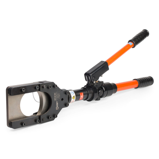 Hydraulic cutter for cables, steel wire ropes and bars