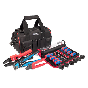 "Set of tools ""Expert in work with electric box"", 5 items"