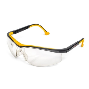 Open-type protective glasses